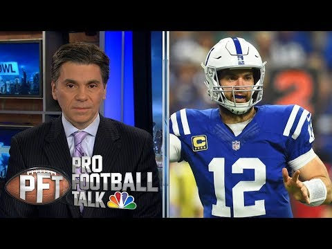 Video: Andrew Luck looks to be in MVP form | Pro Football Talk | NBC Sports