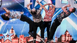 See more from Britain's Got Talent at http://itv.com/talent The members of this dance, acrobatics and free running act are tumbling over themselves (literall...