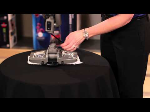 Cleaning the Foot: Symphony Vacuum and Steam Mop 1132