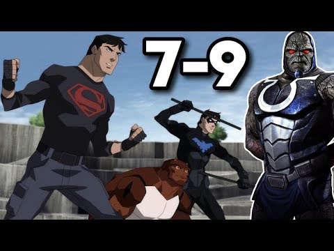 Darkseid Is Coming! - Young Justice: Outsiders Episodes 7-9 Review