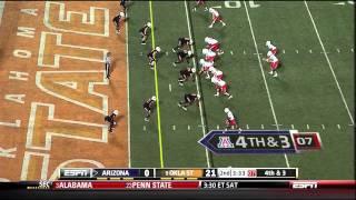 Nick Foles vs Oklahoma State (2011)