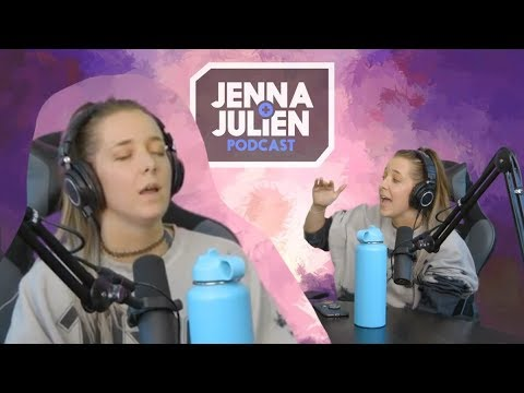 Jenna Singing On Key With The Actual Songs In The Background (J&J Podcast) - edit PT 2