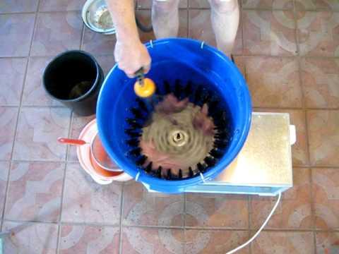 Перосъемная машина своими руками как сделать