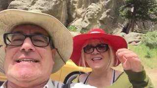 Boulder Canyon Highway raging waters