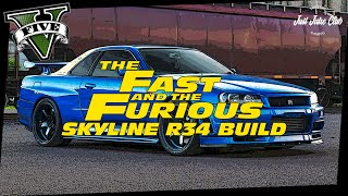 Nonton FAST & FURIOUS NISSAN SKYLINE R34 CUSTOM CAR BUILD TUTORIAL: GTA 5 ONLINE (ELEGY RETRO CUSTOM) Film Subtitle Indonesia Streaming Movie Download