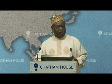 Video:Mu&#8217;azu Babangida Aliyu on Nigeria&#8217;s Unity and Regional Socio-Political Groups-Chathamhouse.org