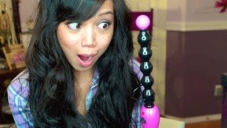 First Impression: Revlon Curl Magic - Beachy Waves Hair Tutorial - itsjudytime