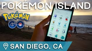POKÉMON ISLAND - EXPLORING RARE SPAWN LOCATIONS IN SAN DIEGO by Trainer Tips