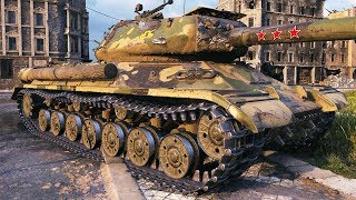 IS-4 - 2 vs 10 - World of Tanks Gameplay