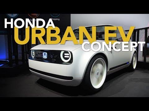 Hondas Urban EV Concept auf der IAA