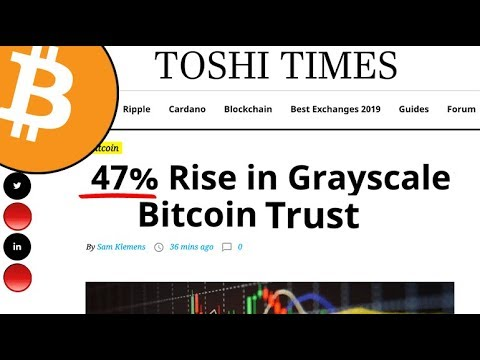 Bitcoin: 47% Rise In Grayscale's GBTC Trust Signals High Institutional Demand! And Other Crypto News