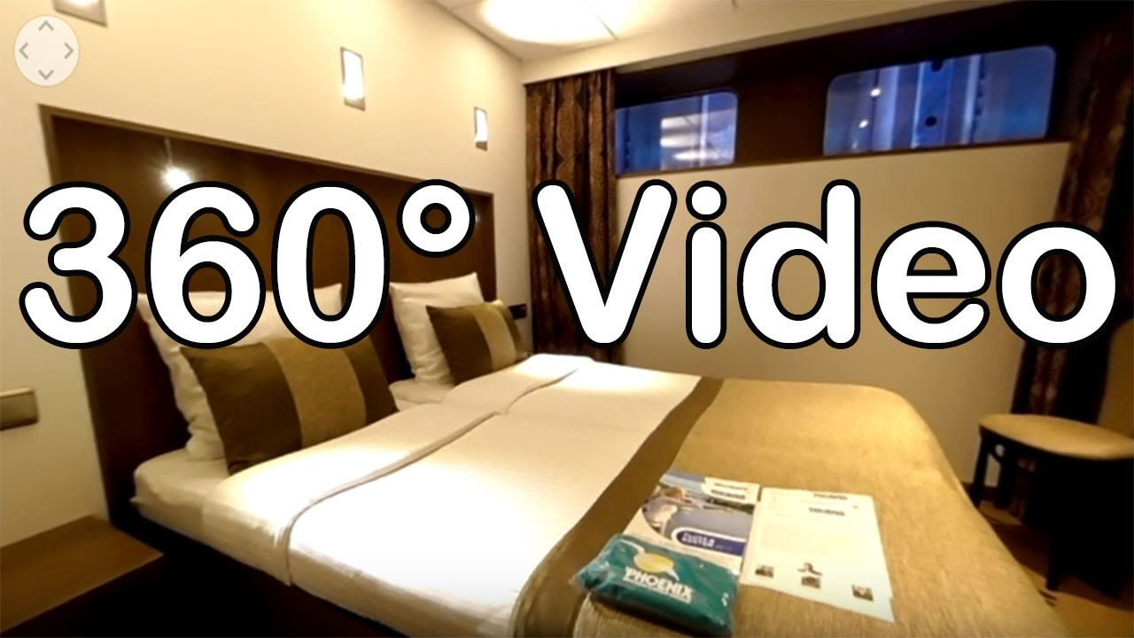 360 Grad Video: Kabine 122, Kat. B - MS Amelia