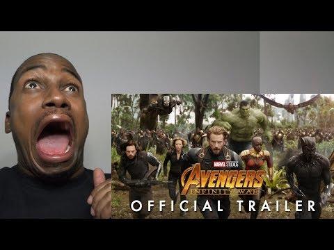 Avengers: Infinity War Official Trailer REACTION (видео)