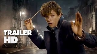 Fantastic Beasts And Where To Find Them  Official ComicCon Trailer 2016  Eddie Redmayne Movie HD