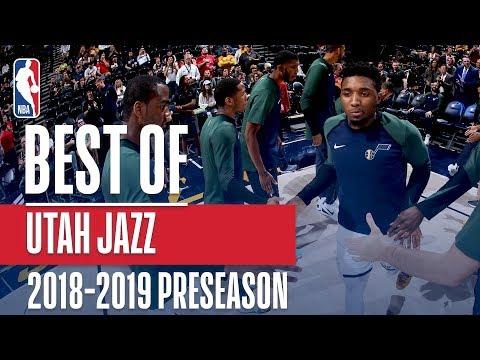 Video: Best Of Utah Jazz   2018 NBA Preseason