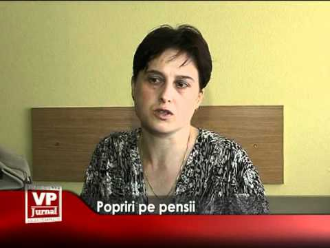 Popriri pe pensii
