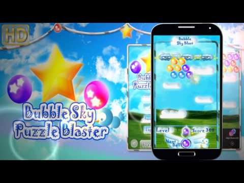 Video of Android Bubble Sky Blaster