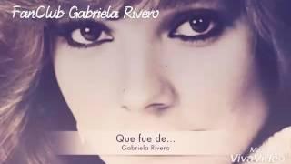Un poco de lá trayectoria de Gaby Rivero