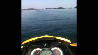 9. 0-100 in 4 seconds on seadoo rxt is 255