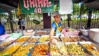 Video $1.29 Buffet - ALL YOU CAN EAT Thai Street Food in Bangkok, Thailand! MP3, 3GP, MP4, WEBM, AVI, FLV September 2019