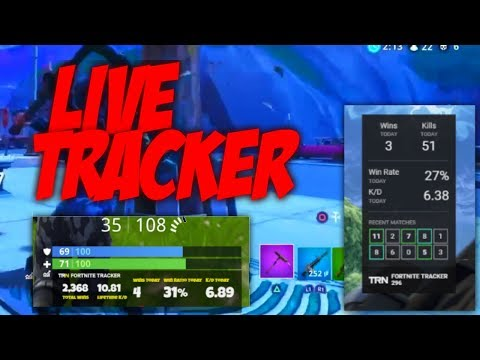 How To Get Live Win Fortnite Tracker On Your YouTube/Twitch Streams On OBS