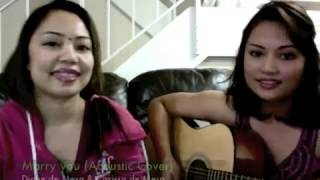 Marry you (Cover) Collaboration with sister Carissa!