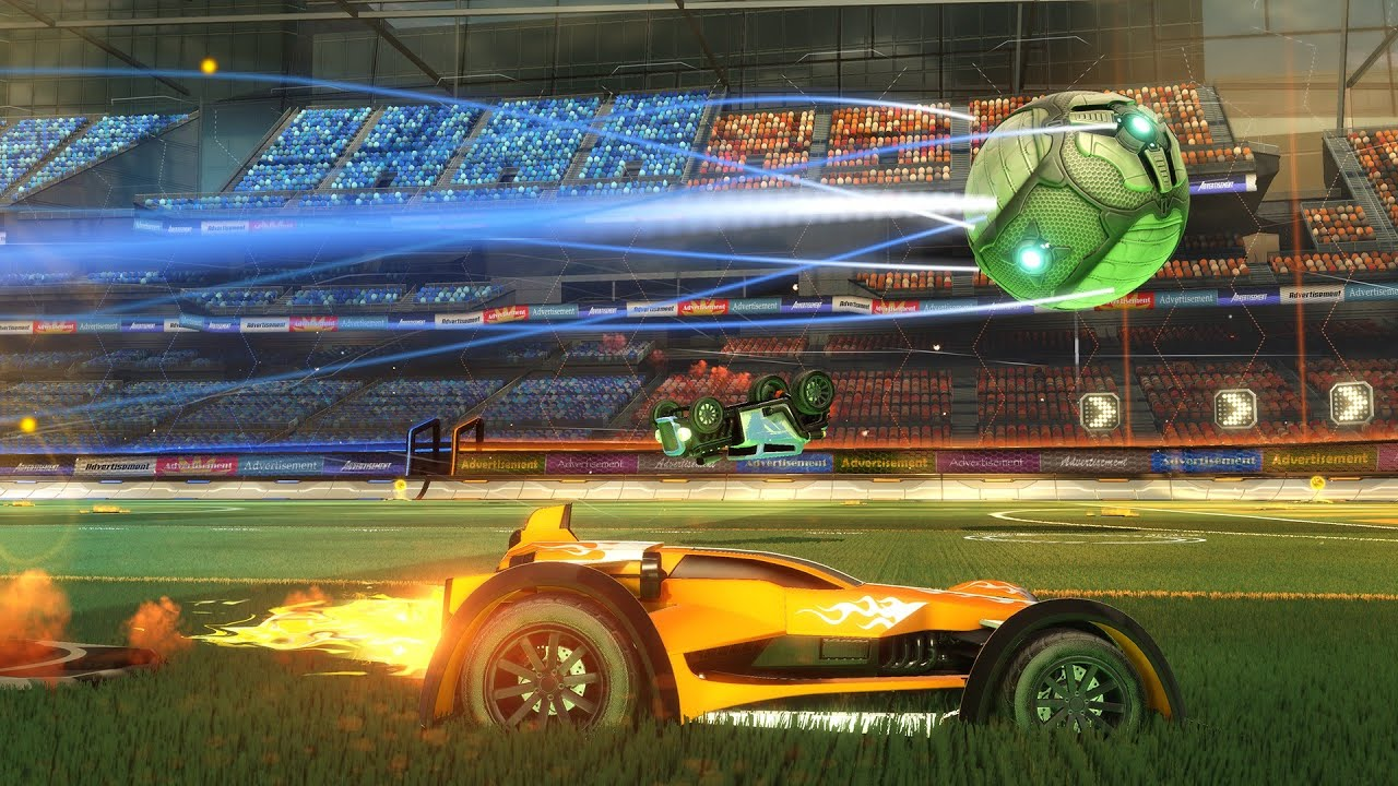 COCHES + FUTBOL = ROCKET LEAGUE