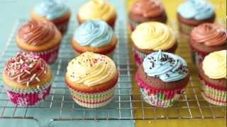Comment faire des cupcakes parfaits - Allrecipes.fr - YouTube