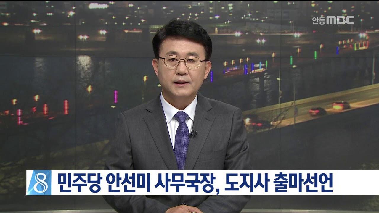더불어민주당 안선미, 도지사 출마선언