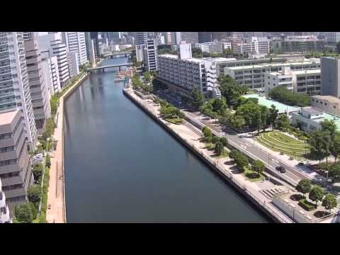 Minato-ku Drone Video