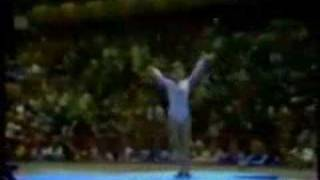 Nadia Comaneci ROM 1976 Olympics, all-around - balance beam 10.0 (79.275 1st place) Nadia's perfect tens are among the...