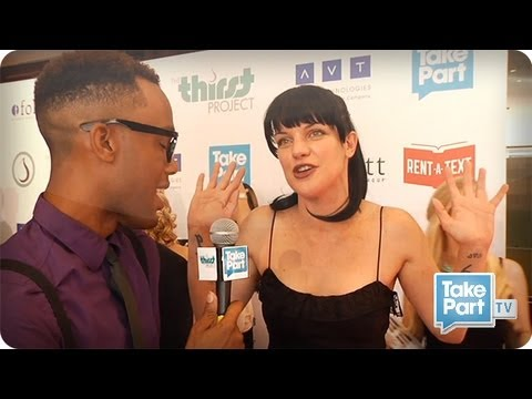 Pauley Perrette (NCIS) Kirsten Vangsness and Others Celebrate⎢Thirst Gala⎢TakePart TV