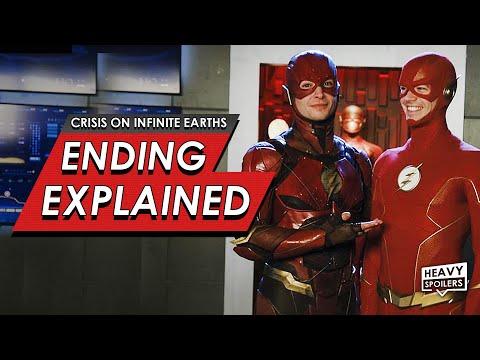 Crisis On Infinite Earths: Episode 4 & 5 Breakdown + Ending Explained   DC & Ezra Miller Flash Cameo