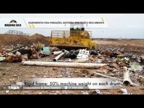 Compactadores de Aterro Sanitário