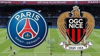 Download Video Ligue 1 2018/19 - PSG Vs Nice - 04/05/19 - FIFA 19 MP3 3GP MP4