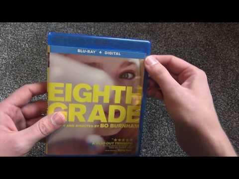 Bo Burnham Eighth Grade Blu-Ray Unboxing