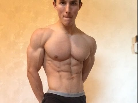 Upper Body Workout with 16-Year-Old Ryan Sharp – 1 WEEK OUT