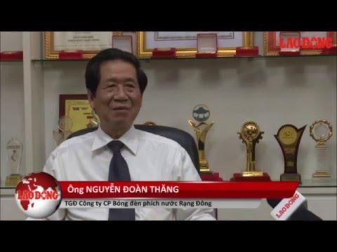Tổng Giám Đốc Nguyễn Đoàn Thăng trả lời