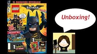 Unboxing/opening rivista Lego Batman! Minifigure + poster! :)