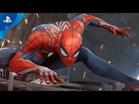 Marvel's Spider-Man (PS4) 2017 E3 Gameplay (видео)