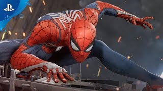 Marvel's Spider-Man - E3 2017 Gameplay