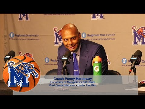 Memphis Men's Basketball Post Game Interview - Penny Hardaway