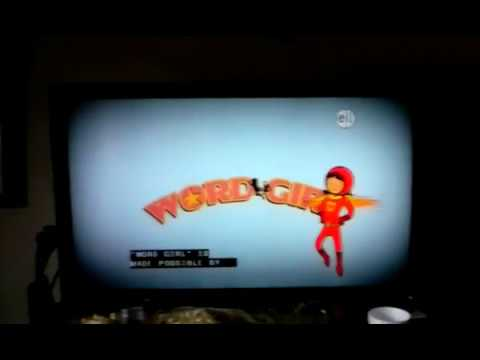 Much louder than should.be wordgirl intro