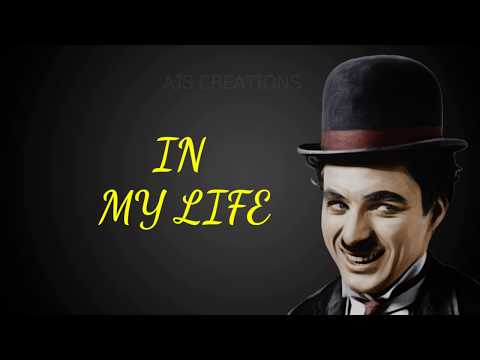 Charlie Chaplin Inspirational Quote New Status Video