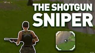 Fortnite: The Shotgun Sniper (Overpowered Shotgun)