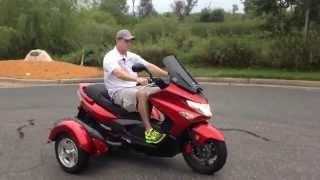 10. 2011 Kymco Xciting 500 Test Ride