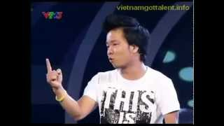 Vietnam's Got Talent 2011 - Hài độc Thoại - Mr Dưa Leo - 18/3/2012