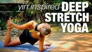 Yin Inspired Deep Stretch Yoga
