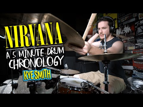 Nirvana: A 5 Minute Drum Chronology