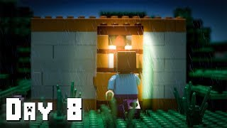 LEGO Minecraft Survival Day 8 (Stop Motion Animation)